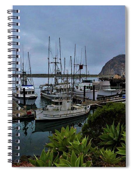 Morro Bay Spiral Notebook