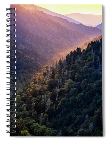 Morton Overlook Sunset Spiral Notebook