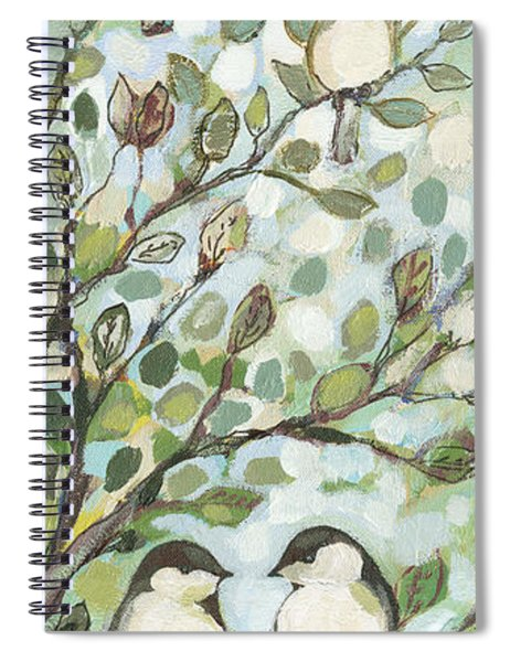 Mo's Chickadees Spiral Notebook