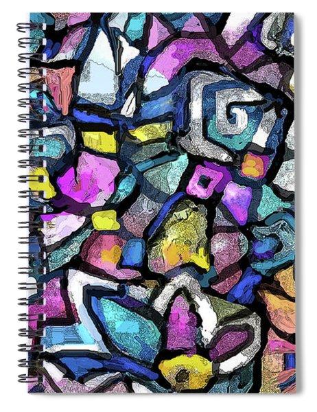 Mosaic 17 Spiral Notebook