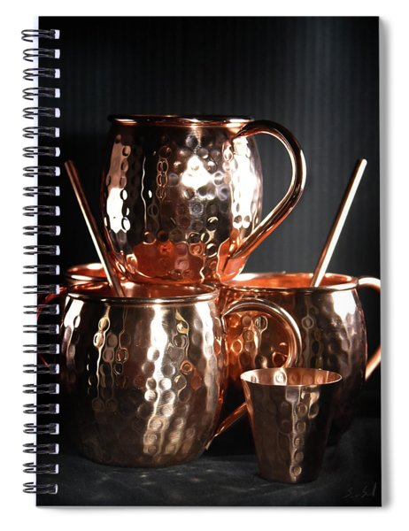 Moscow Mule Set Spiral Notebook