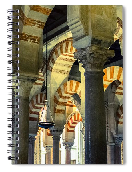 Mosque Cathedral Of Cordoba 2 Spiral Notebook