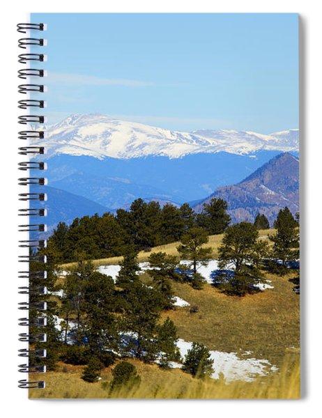 Mosquito Range Mountains Spiral Notebook