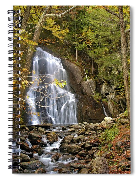 Moss Glen Falls Spiral Notebook