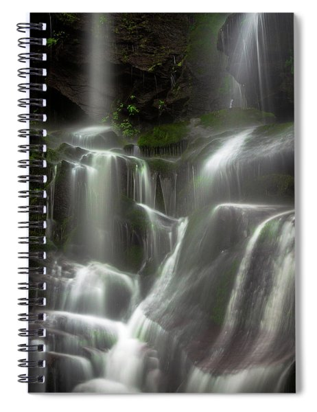 Mossy Waterfall Spiral Notebook