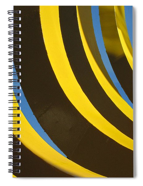 Mostly Parabolic Spiral Notebook