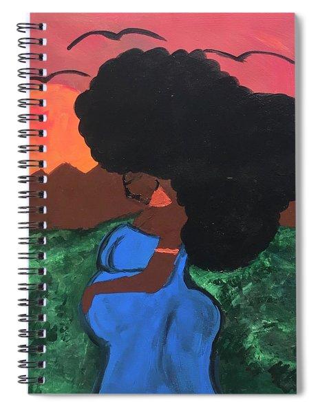 Mother Africa  Spiral Notebook