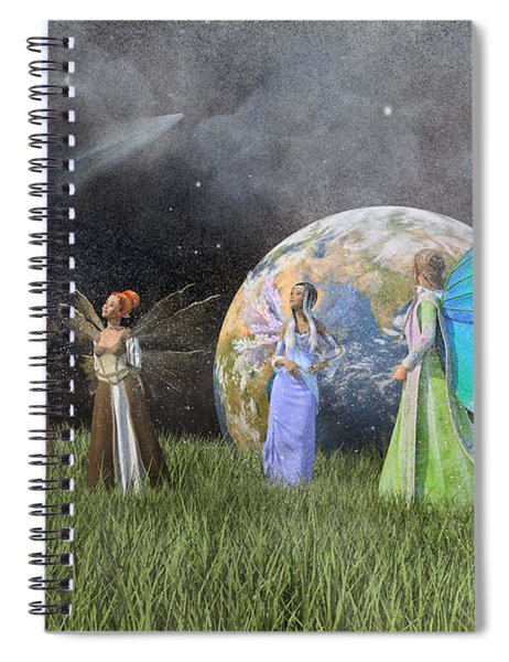 Mother Earth Series Plate1 Spiral Notebook