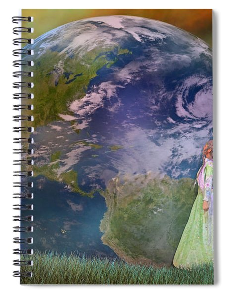 Mother Earth Series Plate3 Spiral Notebook