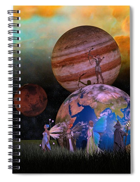 Mother Earth Series Plate6 Spiral Notebook