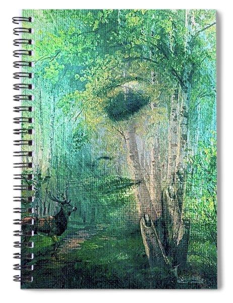 Mother Nature 0022 Spiral Notebook
