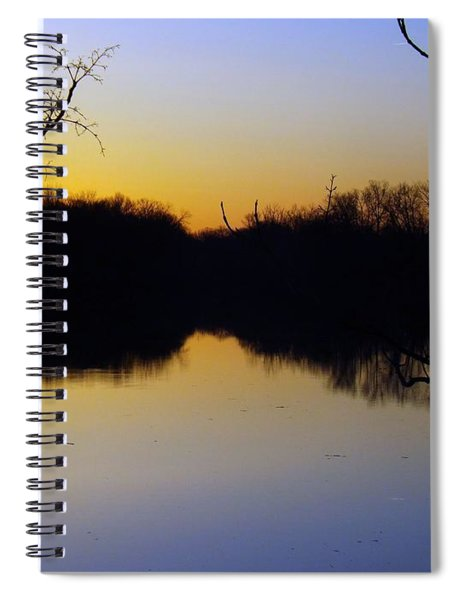 Mother Natures Glow Spiral Notebook