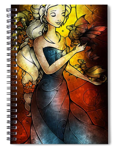 Mother Of Dragons Spiral Notebook