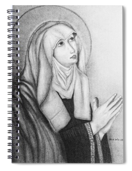 Mother Of Sorrows Version1 Spiral Notebook