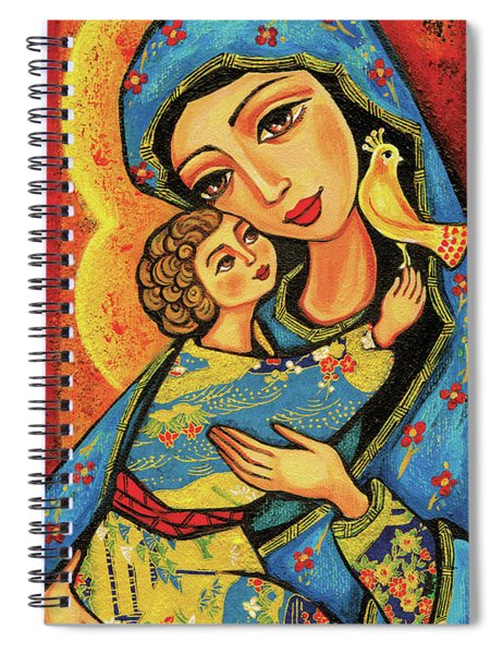 Mother Temple Spiral Notebook