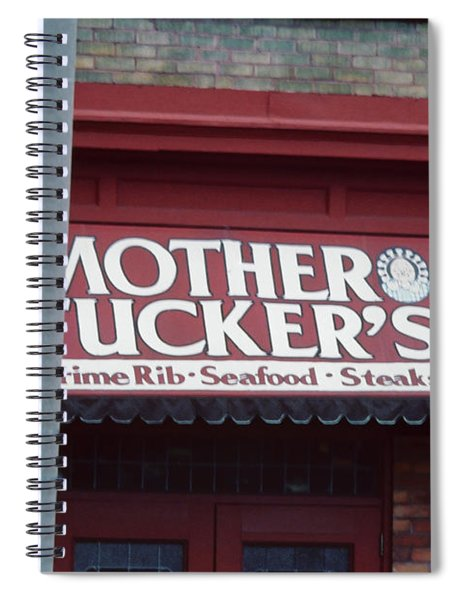 Mother Tuckers Spiral Notebook