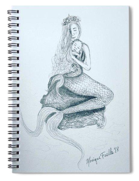 Motherhood Mermaid Spiral Notebook