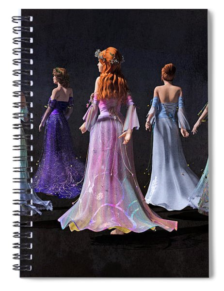 Mothers And Daughters Spiral Notebook