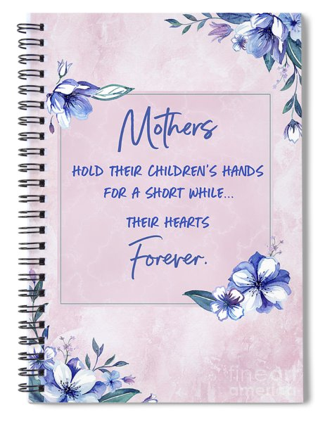 Mothers And Their Children Spiral Notebook