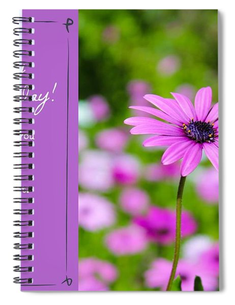 Spiral Notebook featuring the photograph Mother's Day Love by Alison Frank