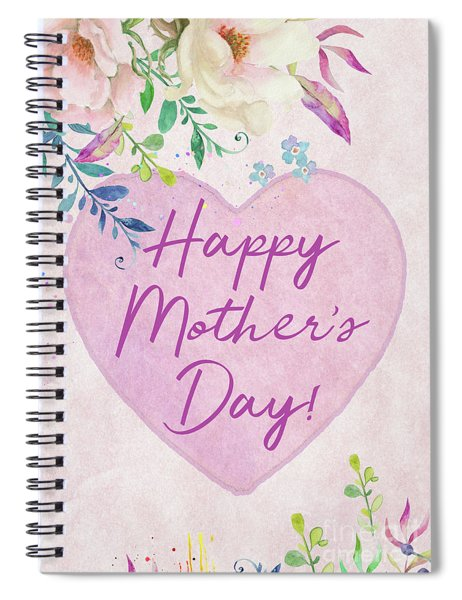 Mother's Day Wishes Spiral Notebook