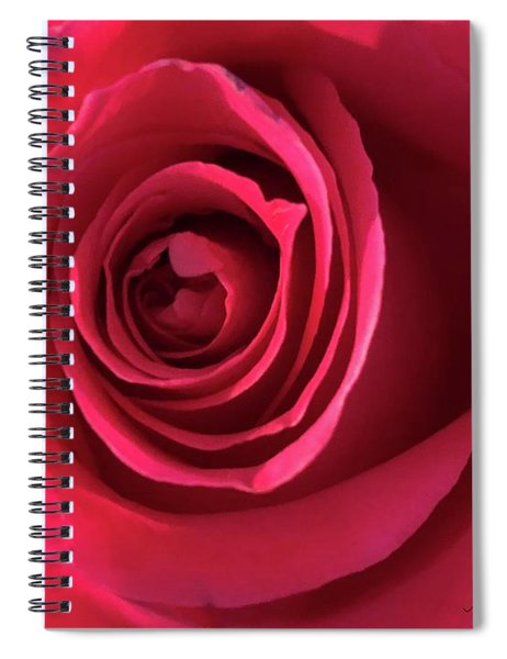 Mother's Rose Spiral Notebook