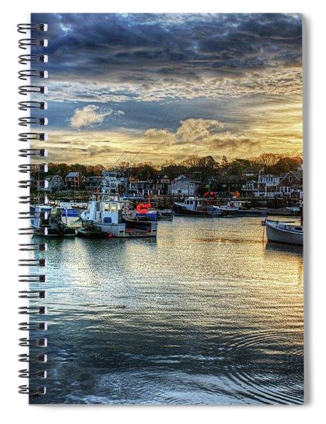 Motif #1 Sunrise Rockport Ma Spiral Notebook