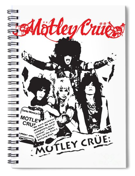 Motley Crue No.01 Spiral Notebook