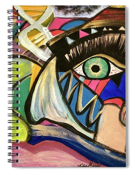 Motley Eye 3 Spiral Notebook