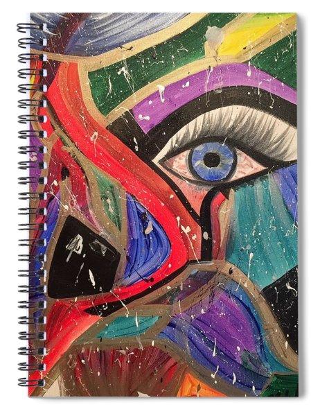 Motley Eye Spiral Notebook