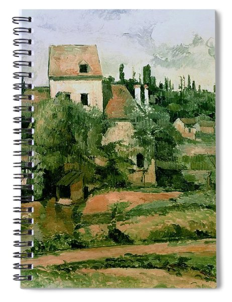 Moulin De La Couleuvre At Pontoise Spiral Notebook