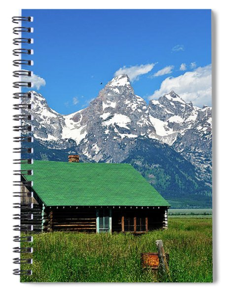 Moulton Cabin Spiral Notebook