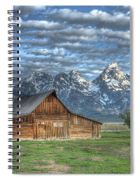 Moulton Morning Spiral Notebook