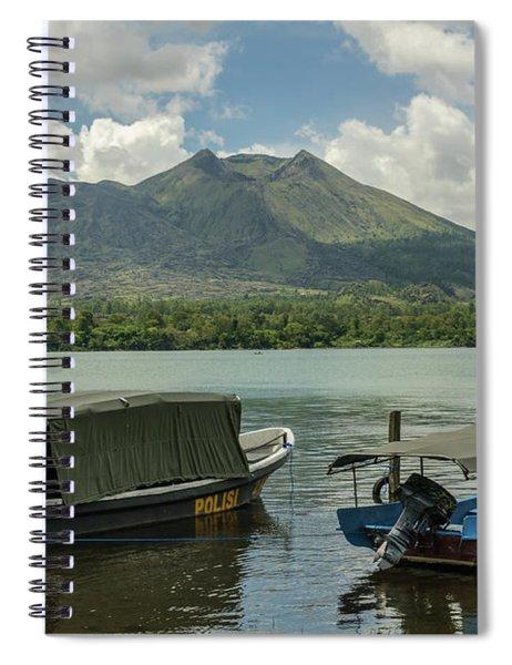 Mount Batur 2 Spiral Notebook