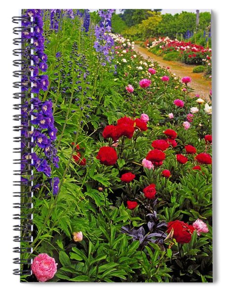 Mount Congreve Gardens, Co Waterford Spiral Notebook