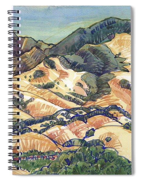 Mount Diablo From Briones, Springhill Road Spiral Notebook