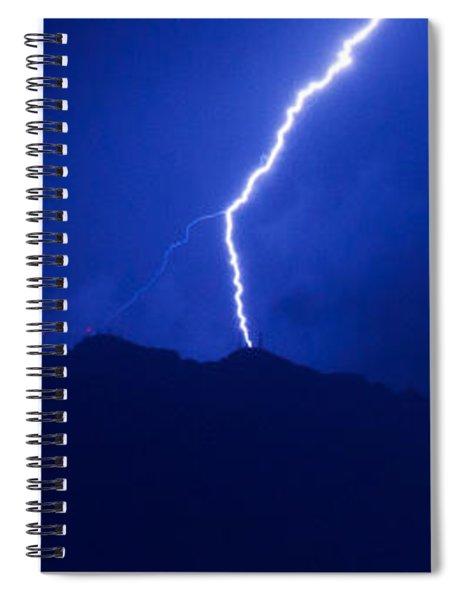 Mount Franklin Lightning Spiral Notebook