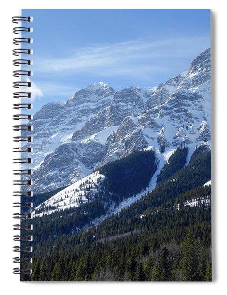 Mount Kidd Spiral Notebook