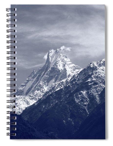 Mount Machapuchare, The Himalayas, Nepal Spiral Notebook