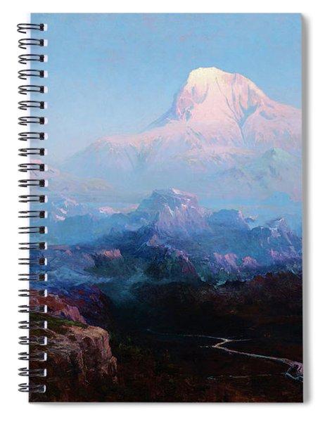 Mount Mckinley Spiral Notebook