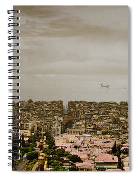 Thessaloniki, Greece - Mount Olympus Spiral Notebook