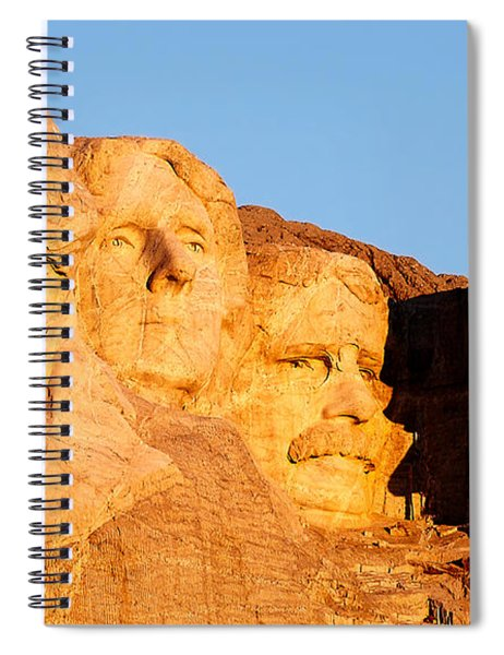 Mount Rushmore Spiral Notebook