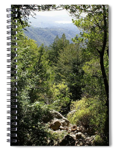 Mount Tamalpais Forest View Spiral Notebook