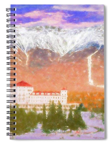 Mount Washington Hotel. Spiral Notebook