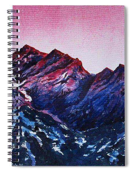 Mountain-1 Spiral Notebook