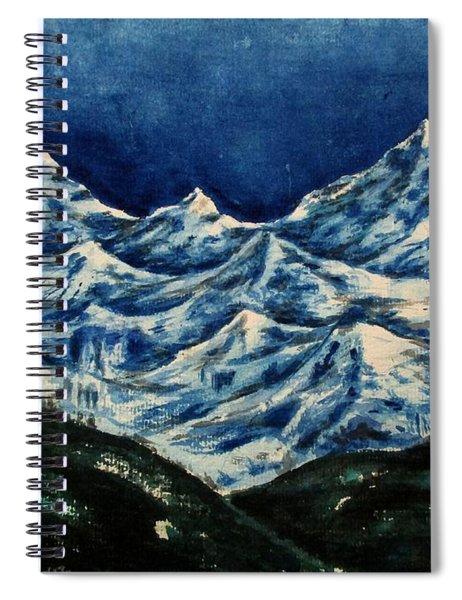 Mountain-2 Spiral Notebook