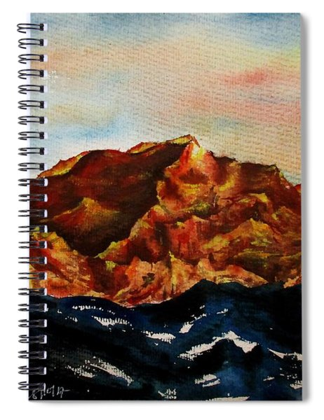Mountain-3 Spiral Notebook