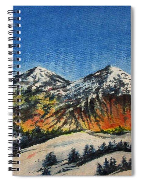 Mountain-5 Spiral Notebook