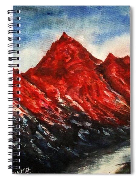Mountain-7 Spiral Notebook