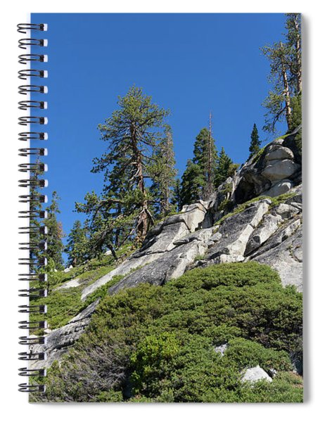 Mountain Along Tioga Pass Yosemite California Dsc04218 Spiral Notebook